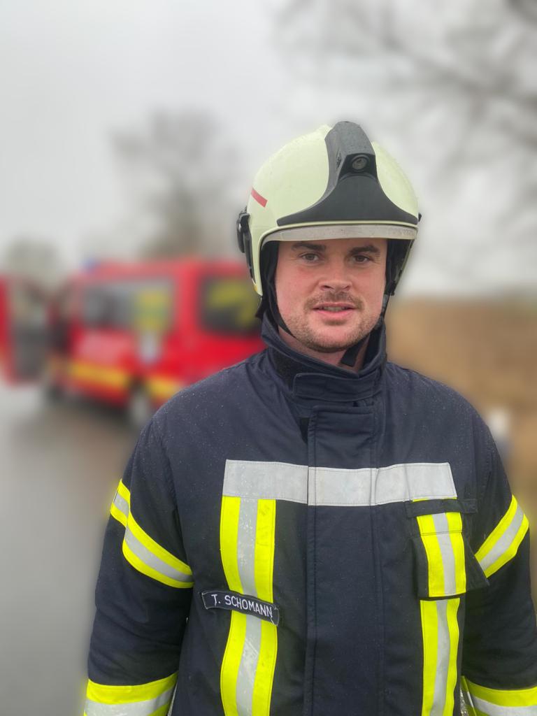 Feuerwehrmann Schomann